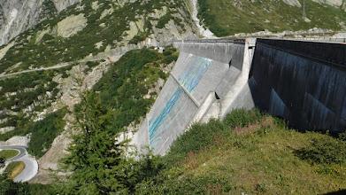 Photo: Ratterischbodensee gravitációs gátja