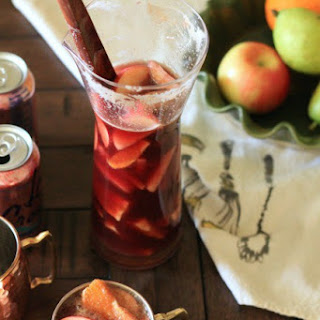 Simple Fall Sangria.