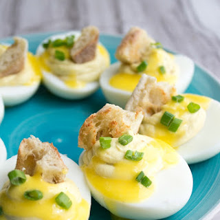 Deviled Eggs Without Mustard Recipes