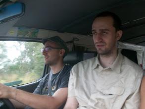 Photo: Stè alla guida e il Berna zombi