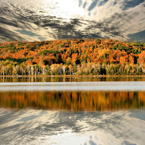 Reflections of Nature by Shelly B. - Landscapes Weather