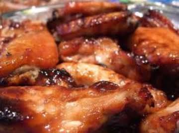 Glazed Oriental Chicken