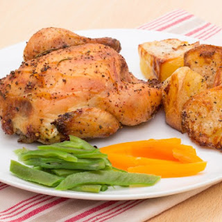Slow Cooker Cornish Game Hens