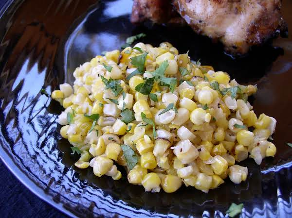 Grilled Green Chile Corn Recipe