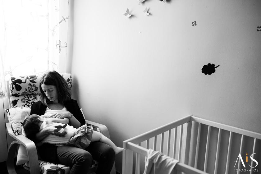 Fotos de familia, una mañana con Zoe