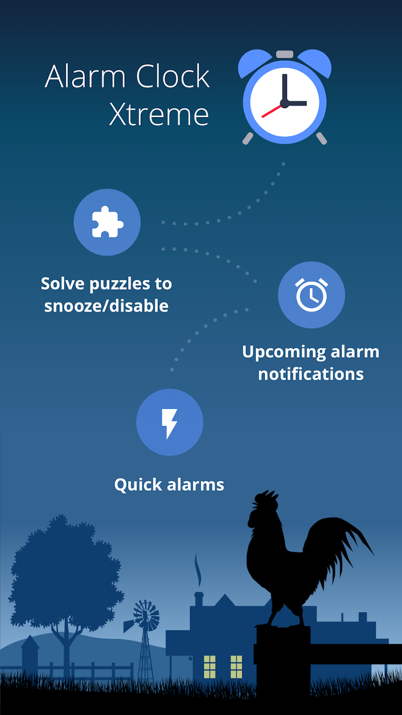 Alarm Clock Xtreme: Alarm, Stopwatch, Timer (Free) Screenshot 0