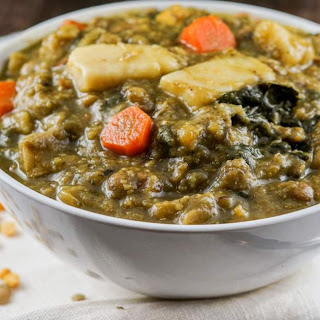 Slow Cooker Lentil and Vegetable Stew.