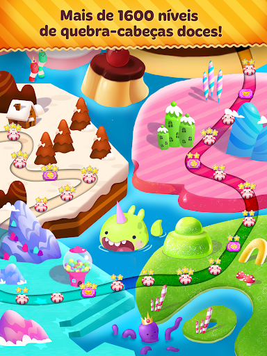 Candy Blast Mania: jogos doces