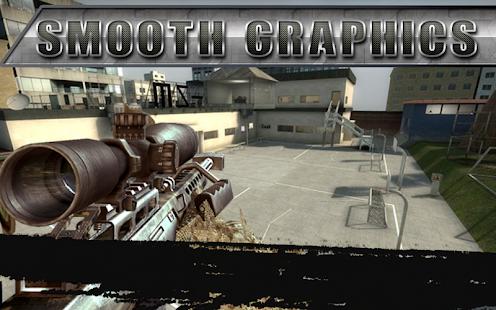 Sniper Frontline Fury Assassin Gun Shot FPS 3D War - náhled