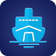 Marine navigation: cruise finder & ship tracker icon