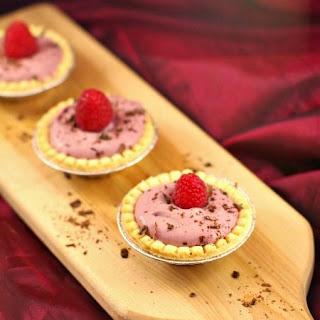 Raspberry Tiramisu Cream Cutie Pies.