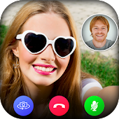 GirlFriend Video Calling : Fake Caller ID icon