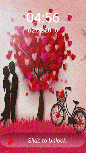 Valentine Screen Lock