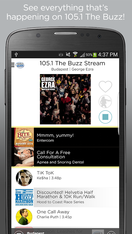 105.1 The Buzz- screenshot