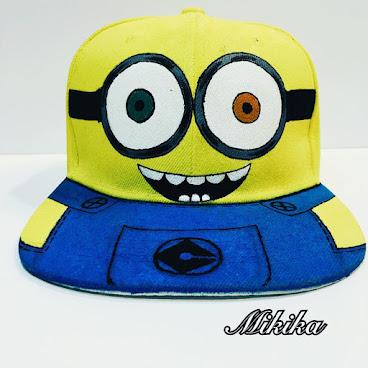手繪Minions Cap帽