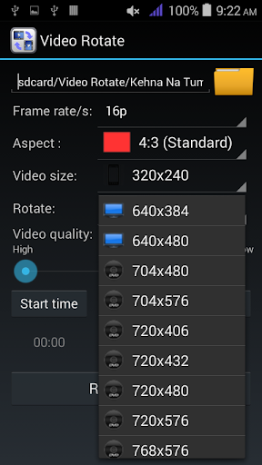 Rotate or Flip Videos