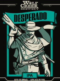 Logo of Wolf Creek Desperado IPA
