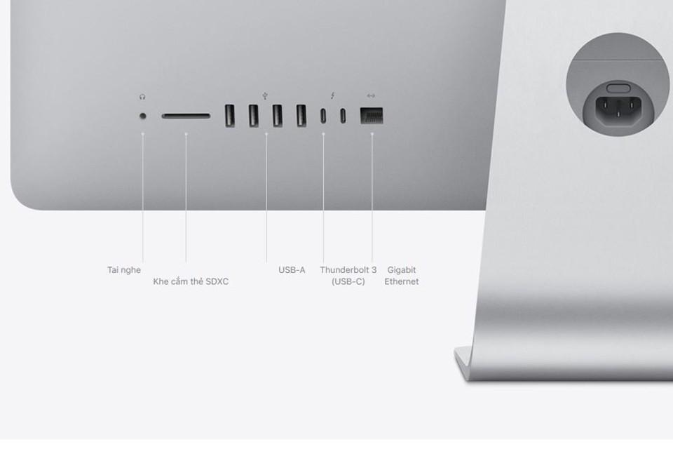 kết nối iMac 27 inch 2020 Retina 5K