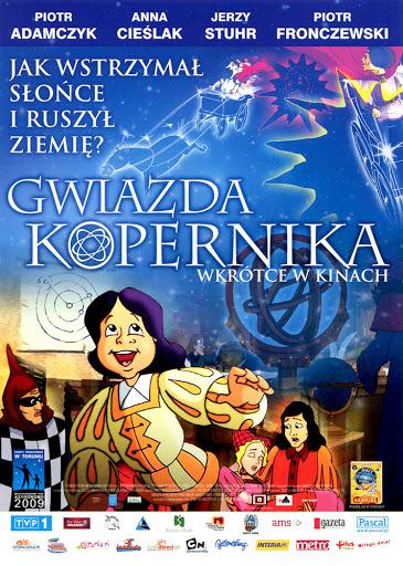 Przód ulotki filmu 'Gwiazda Kopernika'
