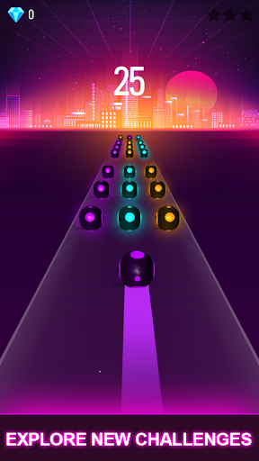 BTS Road Tiles: KPOP Colour Ball Dancing Road Run! screenshots 5