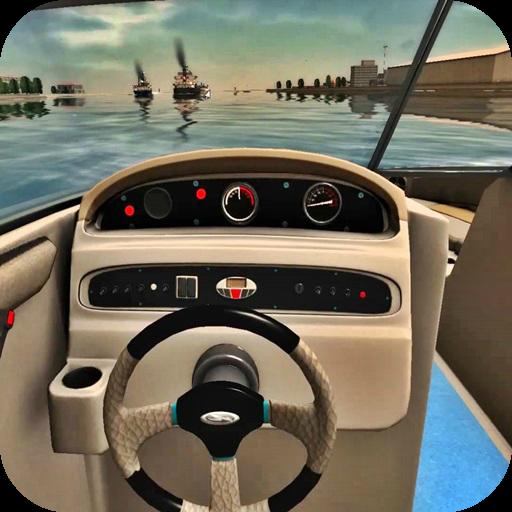Boat Drive 3D Sea View