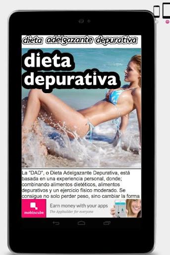 Dieta Adelgazante Depurativa.