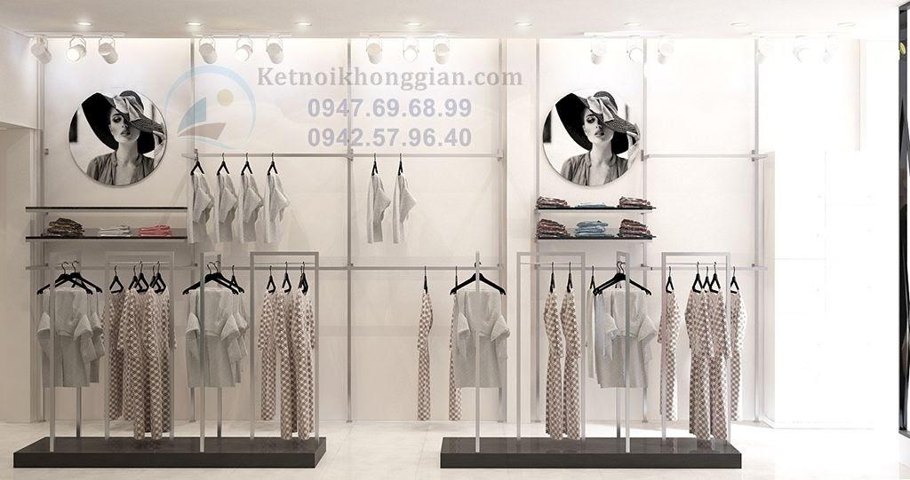 kiến trúc sư thiết kế cửa hàng thời trang thông minh