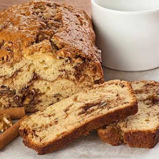 Cinnamon-Walnut Quick Bread.