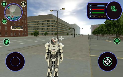 Robot Swat - náhled