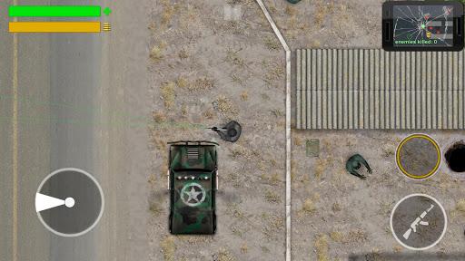 MAD Race Zombie Shooter screenshots 10