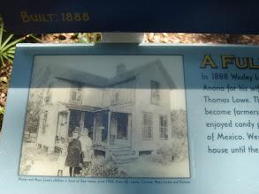 Photo: the original Lowe House circa 1906