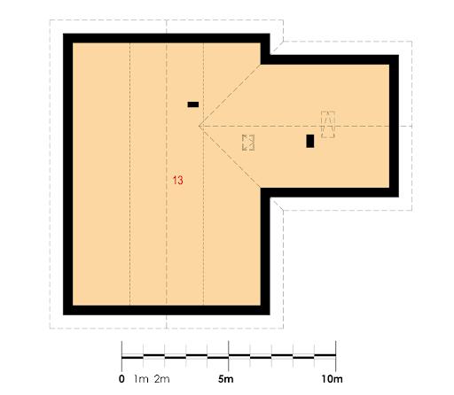 Angularis III G1 - Rzut poddasza