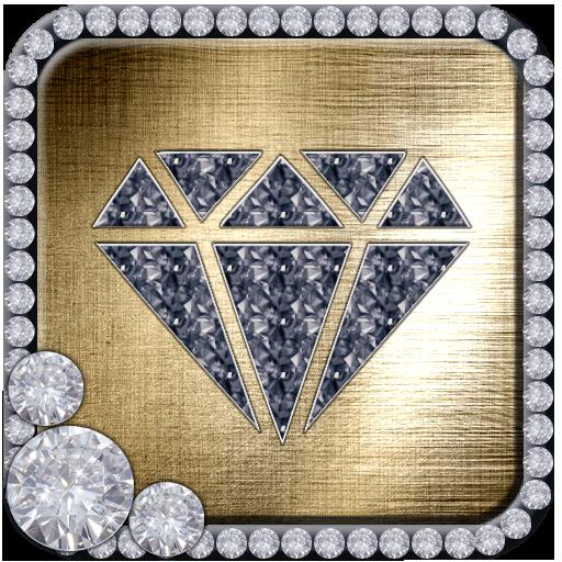 Gold Diamond Glitter Theme