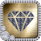 Gold Diamond Glitter Theme