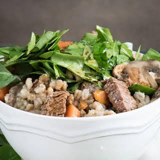 Beef Barley Stew.