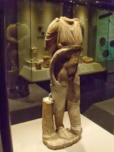 Photo: Marble Attis Castratus from Pisarissos, Roman .......... Marmeren Attis Castratus uit Pisarissos, Romeins