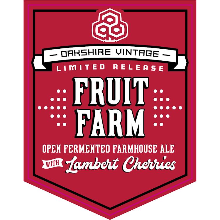 Logo of Oakshire Fruit Farm with Lambert Cherries