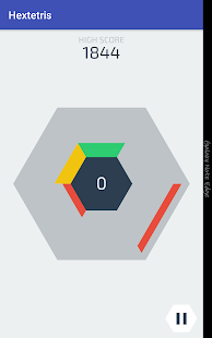 Hextetris screenshot