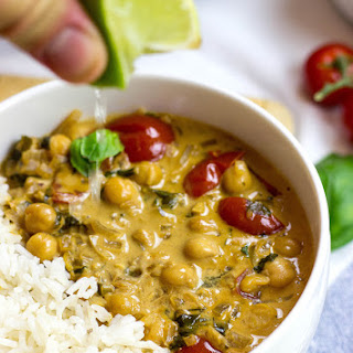 Vegan Chickpea Curry.