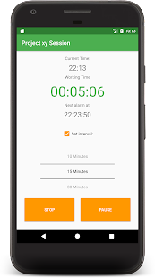 WorkTimeTracker Pro Timesheet - náhled