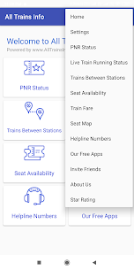 All Trains Info & PNR Status – IRCTC Railway App Download For Android 4