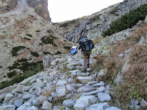 Photo: Klim naar Téryho Chata