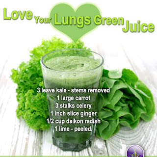 Love Your Lungs Green Juice