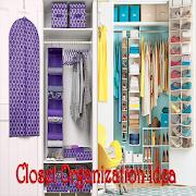 Closet organization idea icon