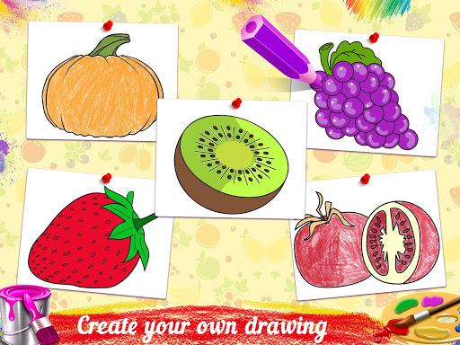 Fruits Coloring Book - Kids Coloring Book 1.0.0 screenshots 1