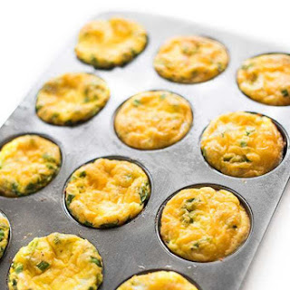 Ham and Cheese Baked Egg Cups.