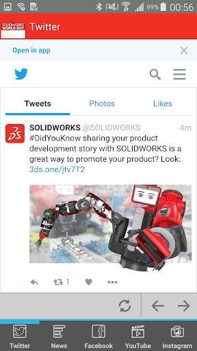 SOLIDWORKS World 2017 1.0.0 screenshots 4
