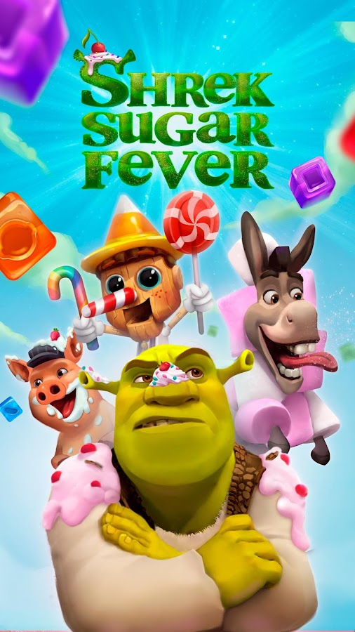 Shrek Sugar Fever - Puzzle Game- screenshot