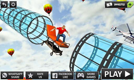 Happy Auto Wheels: Vertical Mega Ramp GT Stunts 1.1 app download 1