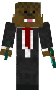 BLUE ENDERMAN COOL ARI PRO 25 XD Nova Skin